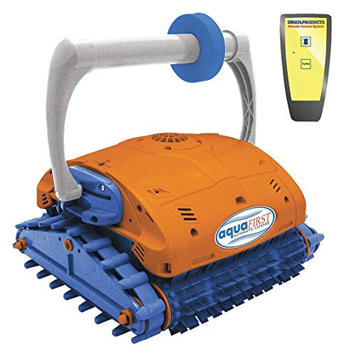Robotic Pool Cleaner, In-Ground, 5000 gph, Wall Climber, Cord Length 60 ft.