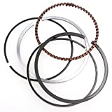 Wings GY6 100cc Piston Rings Kit 50mm Big Bore Rings Set Moped Scooter 139QMB