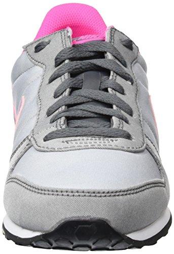 Nike Wmns Genicco Canvas, Zapatillas de Deporte Para Mujer Gris (Wolf Grey / Pink Blast-Dark Grey)