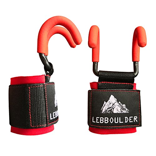 Lebboulder Workout Gloves: Top 10 Lifting Gloves With Hooks Of 2019