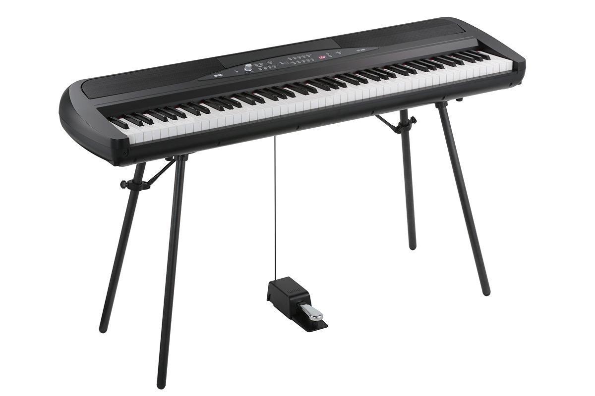 Korg SP280BK 88-Key Digital Piano with Speaker by Korg (Image #2)