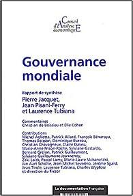Gouvernance mondiale par Conseil d'analyse économique France