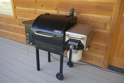 Camp Chef Smokepro Dlx Pellet Grill Black With Sear Box