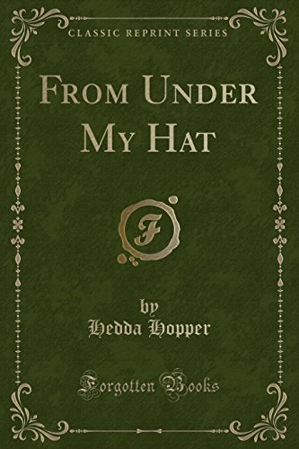 From Under My Hat (Leading Reprint)