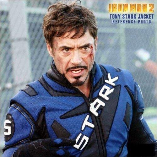 (Officially Licensed Marvel Iron Man II Stark Jacket )