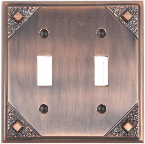 Atlas Copper Switchplate - 2