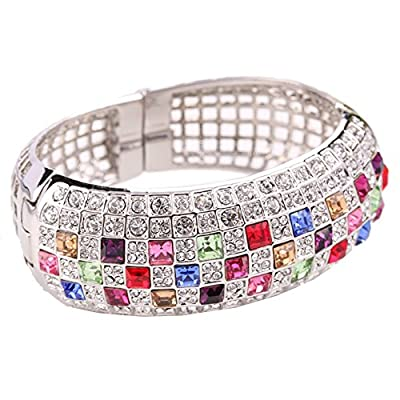 BL-020271 Alloy European And American Style Inlaid Crystal Women's Bracelet