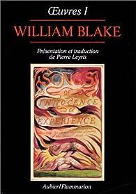 Oeuvres de William Blake, tome 1 par William Blake