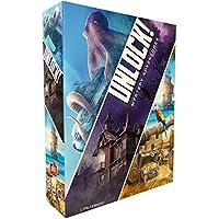 Asmodee Unlock Mystery Adventures Gioco da Tavolo, Colore Azzurro, SCUNL02IT