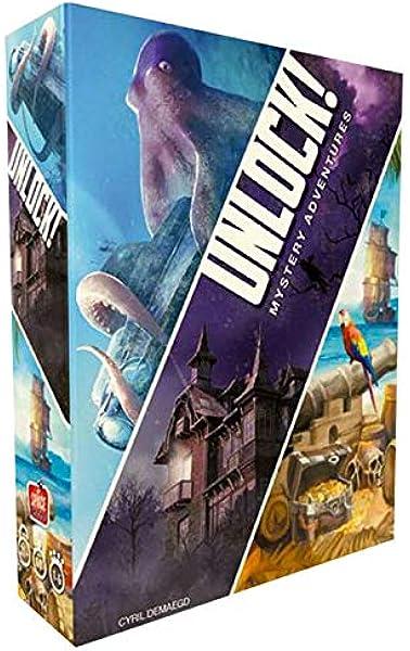 Asmodee Italia Unlock Mystery Adventures Juego de Mesa, Color Azul, scunl02it: Amazon.es: Juguetes y juegos