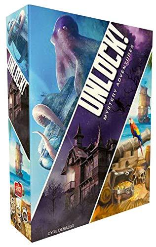 Asmodee Italia Unlock Mystery Adventures Juego de Mesa, Color Azul ...