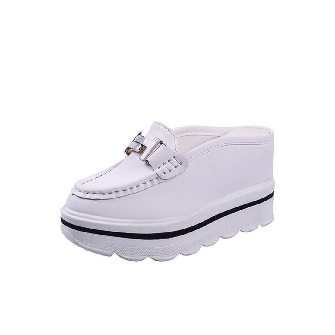 YUCH 19992 Pantoufles B00ZP324CO pour Femmes White White 2a60fa8 - automaticcouplings.space