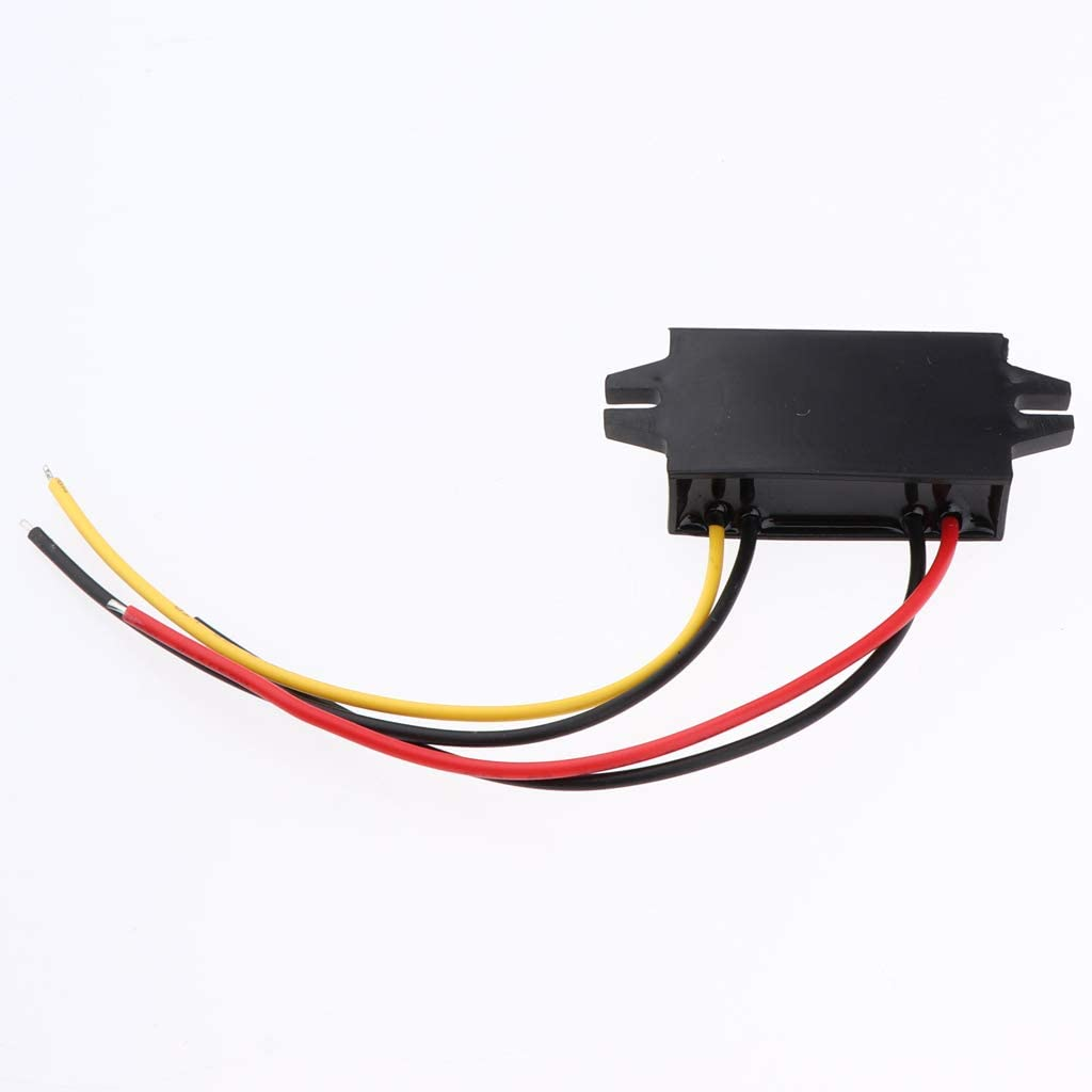 perfk DC-DC Volt Buck Converter Regulator 20-60V to 12V 3A Power Supply Module Volt Inverter Board