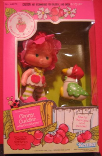 Strawberry Shortcake Cherry Cuddler Vintage Doll Collector Replacement Out of Package