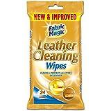 Fabric Magic Lot de 2 paquets de 24 lingettes nettoyantes pour cuir