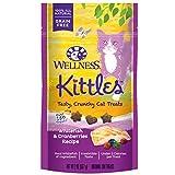 Wellness Kittles Crunchy Natural Grain Free Cat Treats, Whitefish & Cranberries, 2-Ounce Bag