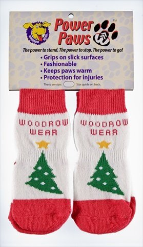 Woodrow Wear, Power Paws, Christmas Tree, XL, Fits 95-130 pounds