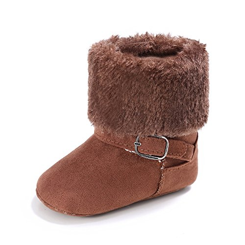 Pictures of Estamico Baby Premium Soft Sole Anti-Slip Brown 1