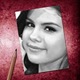 Seasons SELENA GOMEZ - ACEO Sketch Card (Signed by the Artist) #js002