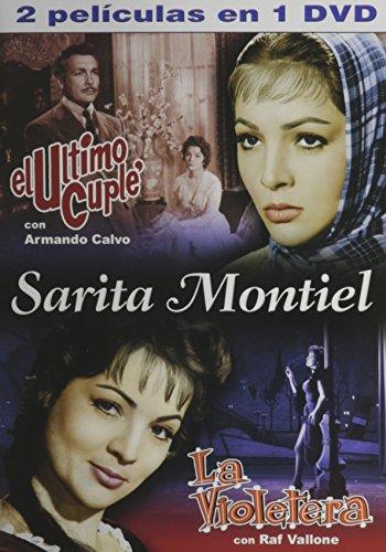 La Violetera & Ultimo Cuple Sarita Montiel Double Feature (Video Subtitles)