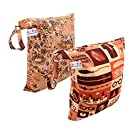 Alva Baby New Positioning Design 2pcs Pack Wet and Dry Cloth Diaper Bags LD0304