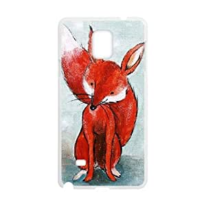 Customized Protective Hard Plastic Case for Samsung Galaxy Note4 - FOX Print personalized case at CHXTT-C