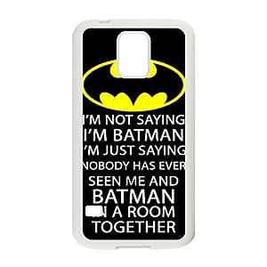 Batman logo i'm batman Phone Case for Samsung Galaxy S5 Case