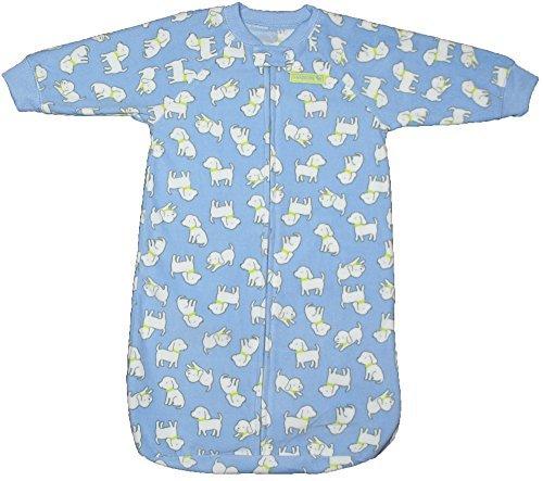 - Child of Mine By Carter's Baby Boys Fleece Sleepsack 0-9M Blue Puppy
