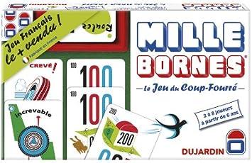 Dujardin 59026 - Juego de Mesa 1000 Bornes: Amazon.es: Juguetes y juegos