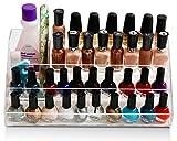 daisi Nail Polish Holder | Multi-Level Premium Quality Acrylic Organizer Nail Polish Storage
