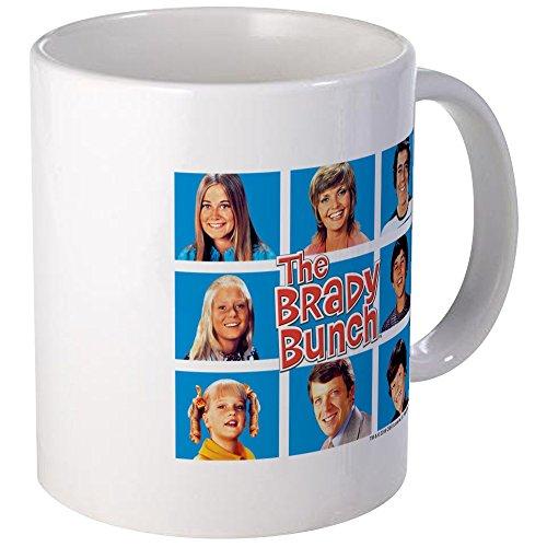 (CafePress The Brady Bunch Grid Mug Unique Coffee Mug, Coffee Cup)