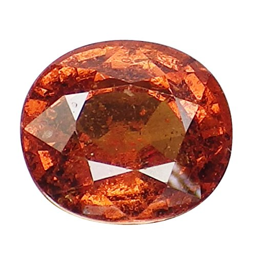 1.90 Ct. Natural Oval Orange Spessartine Garnet Loose Gemstone