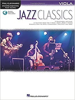 Jazz Classics: Instrumental Play-Along for Viola Bk/Online Audio (Hal-leonard Instrumental Play-along)
