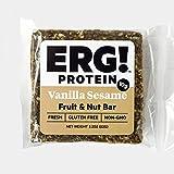 ERG! Energy Fruit and Nut Bars (12, Vanilla Sesame)