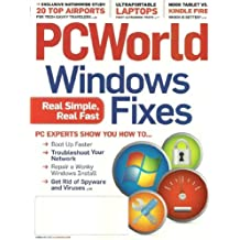 PC World Magazine February 2012 Windows Fixes: Real Simple, Real Fast, Nook Tablet vs. Kindle Fire