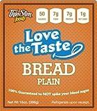 ThinSlim Foods 50 Calorie, 1g Net Carb, Love-The-Taste Low Carb Bread Plain