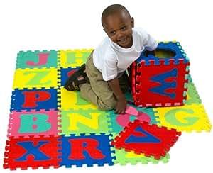 10 Inch Foam Alphabet Puzzle Mat 26pcs