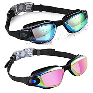 Well-Being-Matters 515NBdzEVsL._SS300_ Aegend Kids Swim Goggles, Pack of 2 Swimming Goggles for Children Boys & Girls Age 3-9