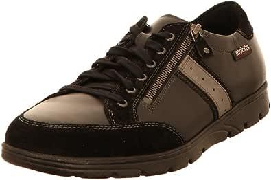 Mephisto Zapatos con cordones para hombre, color negro, 289612