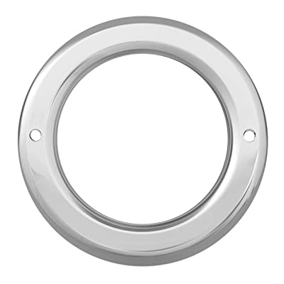 "GG Grand General 84329 4"" Round Chrome Plastic Grommet Cover without Visor for 4 Inches Light: Automotive"