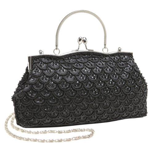Classic Black Clutch Bag - 2