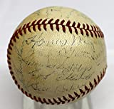 HONUS WAGNER SIGNED AUTOGRAPHED BASEBALL 1941 PIRATES ONL BALL PSA/DNA AD02136