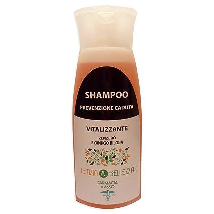 Shampoo para Cabello fragili Anticaída – Jengibre, Ginko Biloba, ginseng, proteína de soja