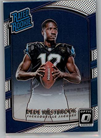 2209e8da5 Amazon.com  2017 Donruss Optic  187 Dede Westbrook Jaguars Rated ...