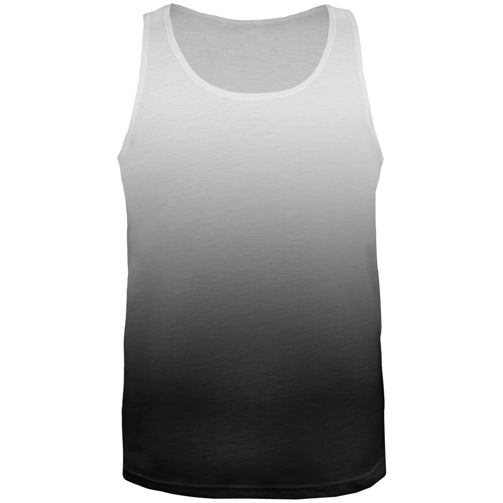 Old Glory Fade to Black All Over Mens Tank Top