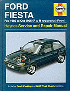 Ford Fiesta (Petrol) 1989-95 Service and Repair Manual (Haynes Service and