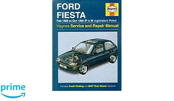 Ford Fiesta Petrol Feb 89 - Oct 95 F To N Haynes Service and Repair Manuals: Amazon.es: Haynes Publishing: Libros en idiomas extranjeros