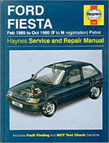 Ford Fiesta Petrol (Feb 89 - Oct 95) F To N (Haynes Service and Repair Manuals): Haynes Publishing: 0038345015953: Amazon.com: Books
