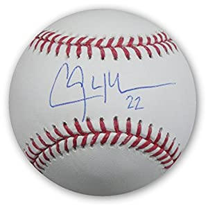 Clayton Kershaw Hand Signed Autographed Baseball Los Angeles Dodgers MLB Holo