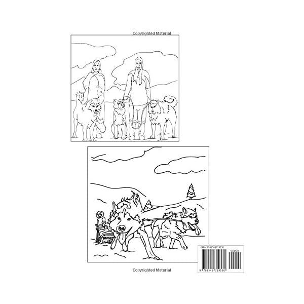 Fun Facts about Alaskan Malamutes: A coloring book 1